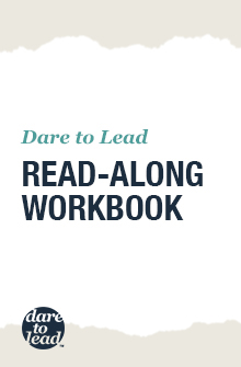 Dare to Lead Read-Along workbook