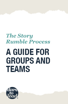 The Story Rumble process: a guide for groups and teams